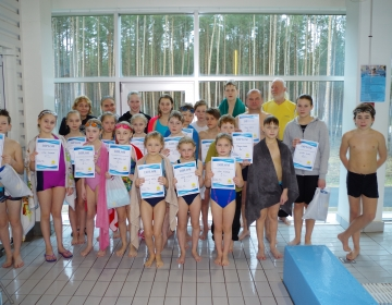 Ujumisvõistlustelt Värskas