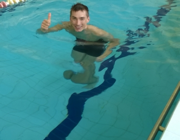 Lauri harjutab vesijooksu